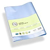 perfect line 25 buste per quaderni trasparenti formato A4, copertina per libro flessibile & pulibile, proteggi quaderno con copertine, custodia ...