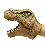 TOYMYTOY Burattino a mano in Gomma Marionetta a guanto realistico Tyrannosaurus Gioco di ruolo per bambini