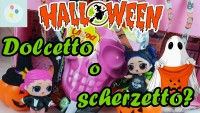 HALLOWEEN con le LOL SURPRISE!!! | Scarta Regali Dolcetto o Scherzetto
