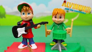 ALVIN e i CHIPMUNKS - Alvin e Theodore con gli strumenti musicali [Apertura gioco in italiano]